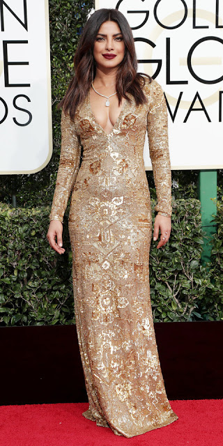Mandatory Credit: Photo by Jim Smeal/BEI/Shutterstock (7734775dv)Priyanka Chopra74th Annual Golden Globe Awards, Arrivals, Los Angeles, USA - 08 Jan 2017